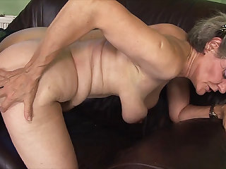 queasy 76 years old granny first time big flannel fucked