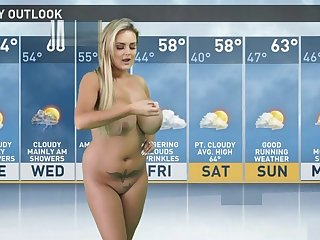 naughty weather girl