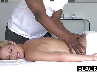 Blacked Blond Hair Babe Mom Cherie Deville Takes Big Black Male Stick - ANALDIN