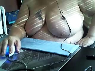 Fat Matured Bbw On Cam With Dildo In Ass