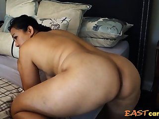 Asian Milf - Taking levelly from make an issue of back
